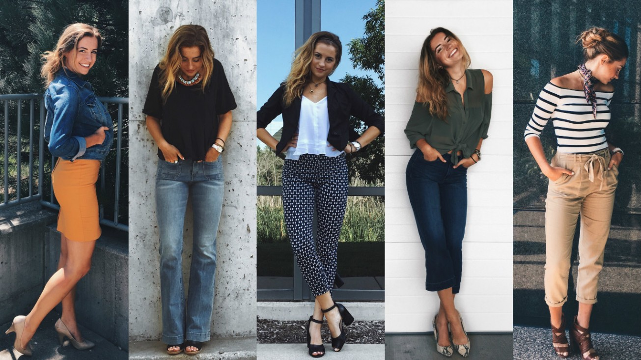 A week of business casual style tips photos rachael What is style